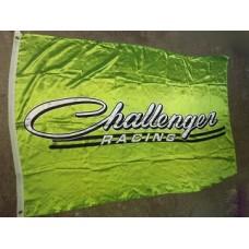 Flagga Challenger grön