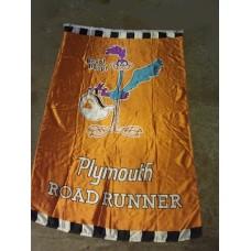 Flagga Roadrunner vertikal